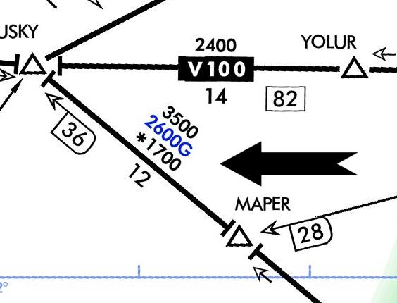 VOR Navigation, Figure 4