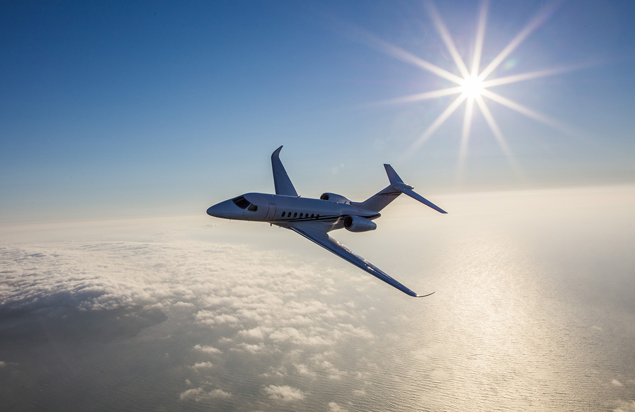 Honeywell's aviation forecast sees three important trends. Photo courtesy of Textron Aviation