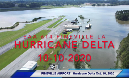 Slammed By Hurricane Delta, This Louisiana EAA Chapter Seeks Donations
