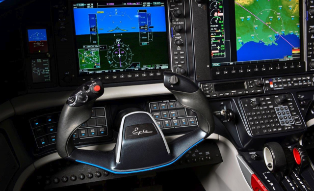 Epic took great pains to create a cockpit that makes the pilot's job of systems management as easy and intuitive as possible.