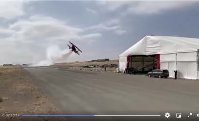 Cool or Uncool? You Made Your Thoughts Clear On Low Pass Of Aerobatic Plane