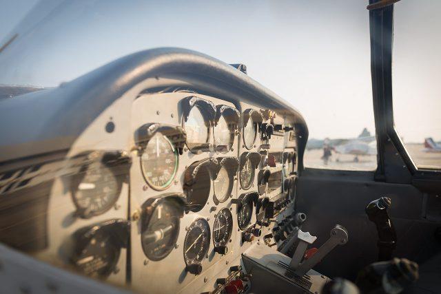 Avionics sales down