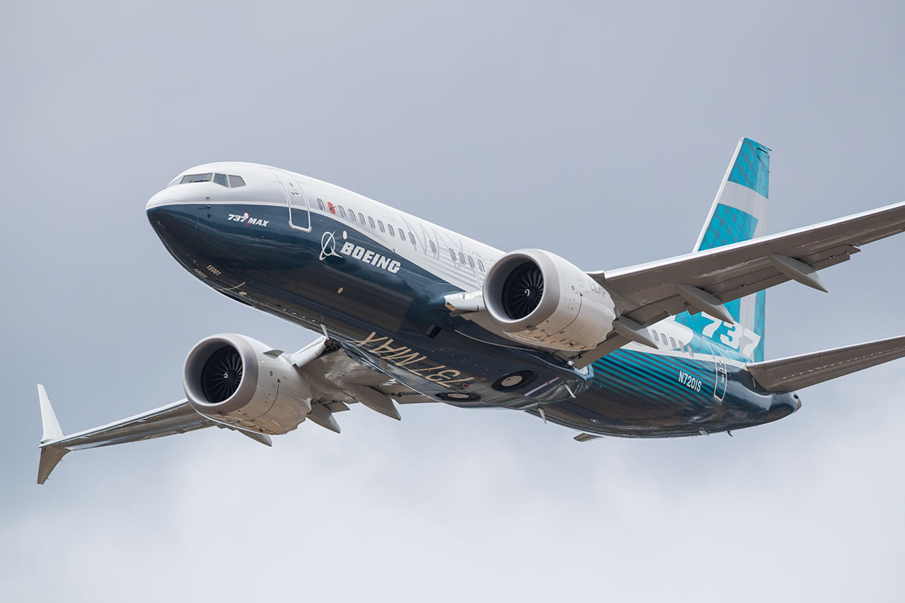 Boeing 737 Max. Photo by Andreas Zeitler/Shutterstock