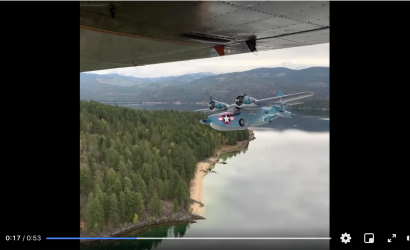 53 Seconds Of Perfection: A Beautiful Grumman Goose In Flight Will Make Everything Right