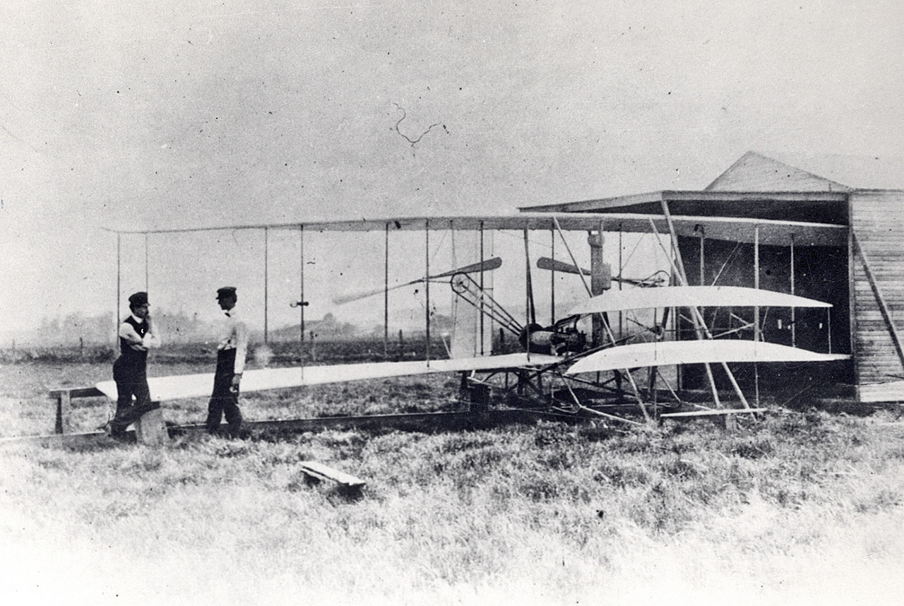 The Wright Flyer II is probably the unfamous aviation second plane to fly.