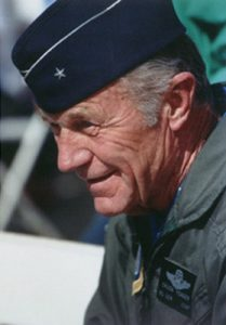 Chuck Yeager. Photo courtesy of Wikipedia Commons