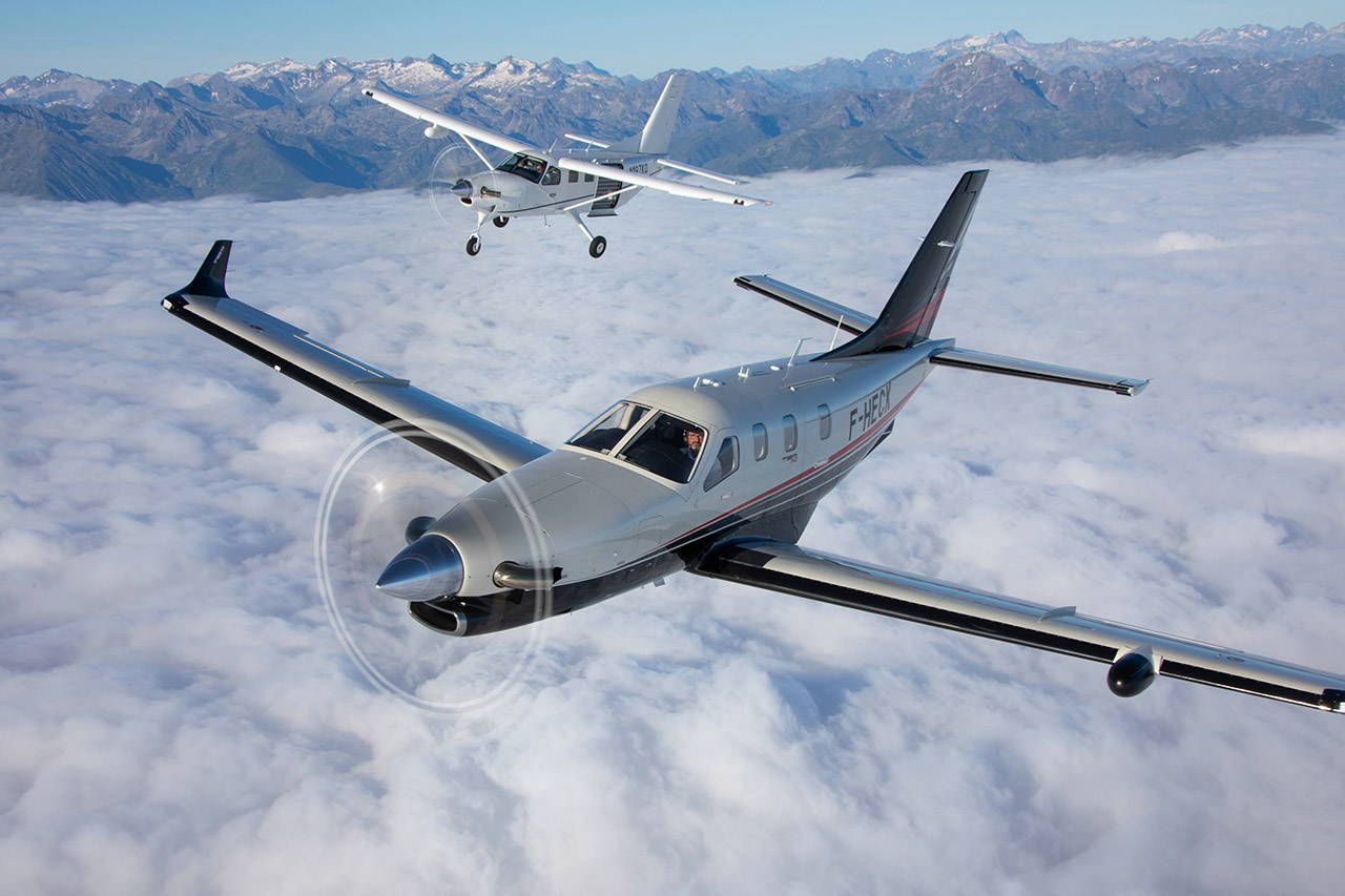 A pair of Daher beauties, the TBM 940 and recently adopted Kodiak, two very different but complementary turboprop singles from Daher.