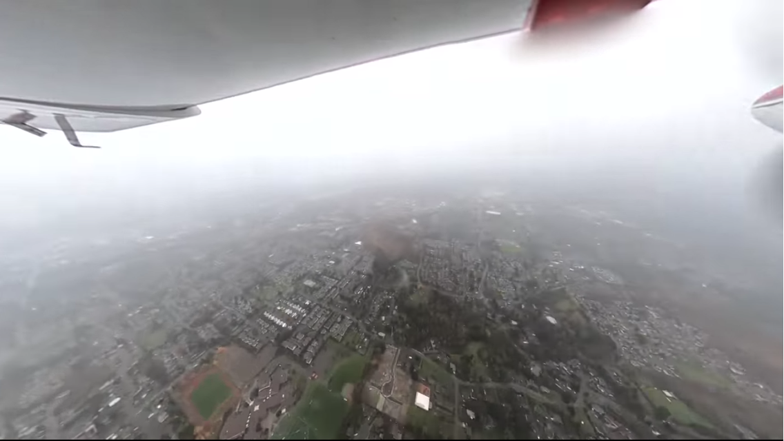 Missed Approach At Tacoma Narrows