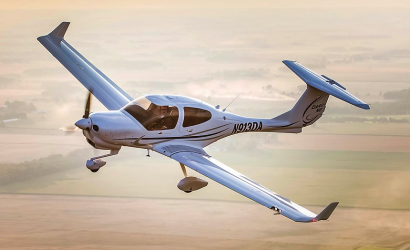 Diamond DA-40 NG. Photo courtesy Diamond Aircraft.