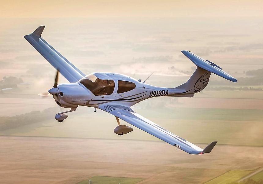 Diamond DA-40 NG. Photo courtesy Diamond Aircraft.