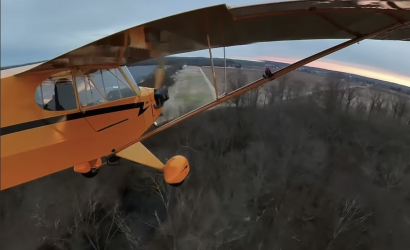 How To Land A J-3 (And how to video it, too!)