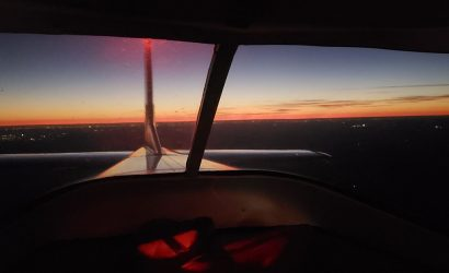 Plane & Pilot Photo Of The Week: Looking Back, Omni-Vision Style