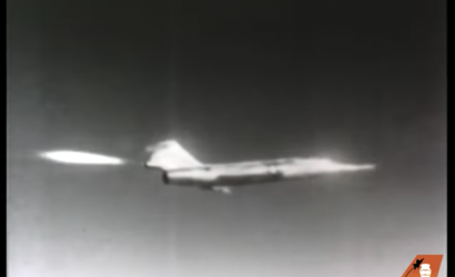 Absolutely Riveting Video of Chuck Yeager's Loss Of Control In NF-104