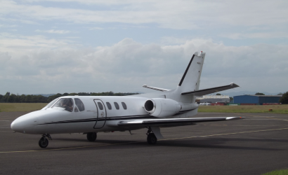 After The Accident: Birds Take Down A Cessna Citation
