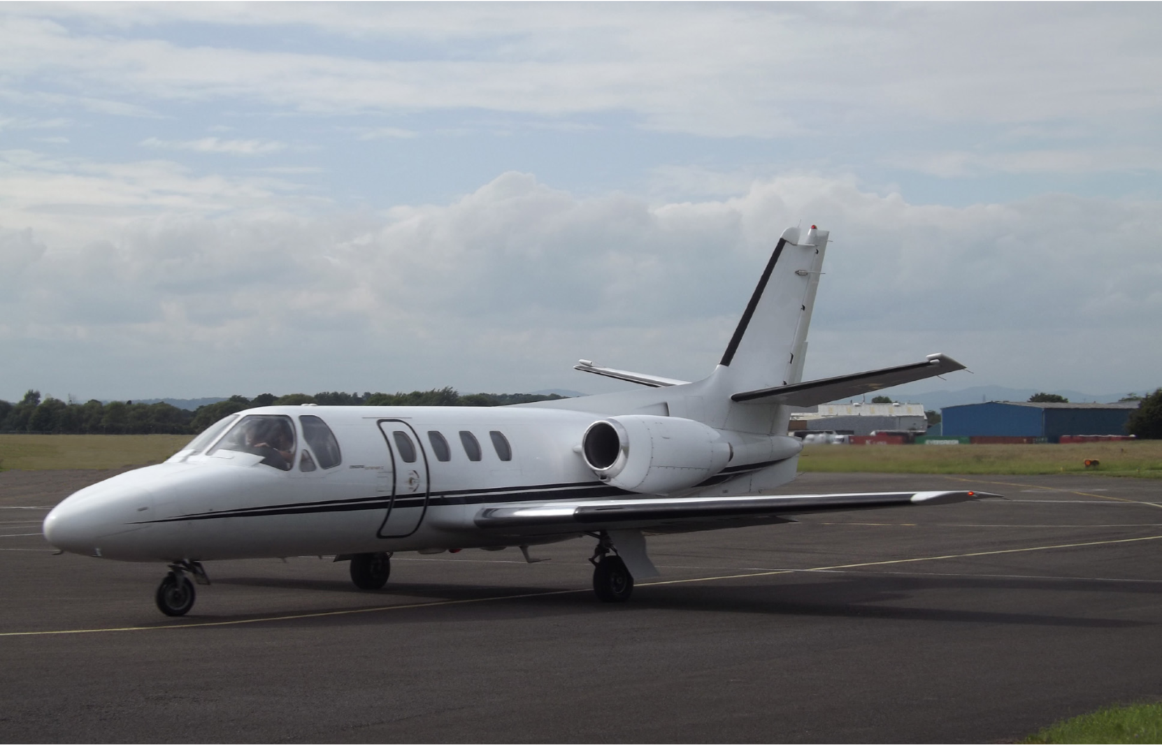 A Cessna Citation 500 similar to the accident airplane. Photo by James, courtesy of Wikipedia Commons