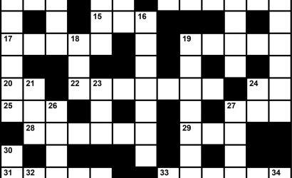 April 2021 Crossword Key