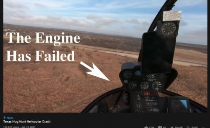 Video: Hog Hunt Chopper's Engine Fails As Wild Sequence Ensues