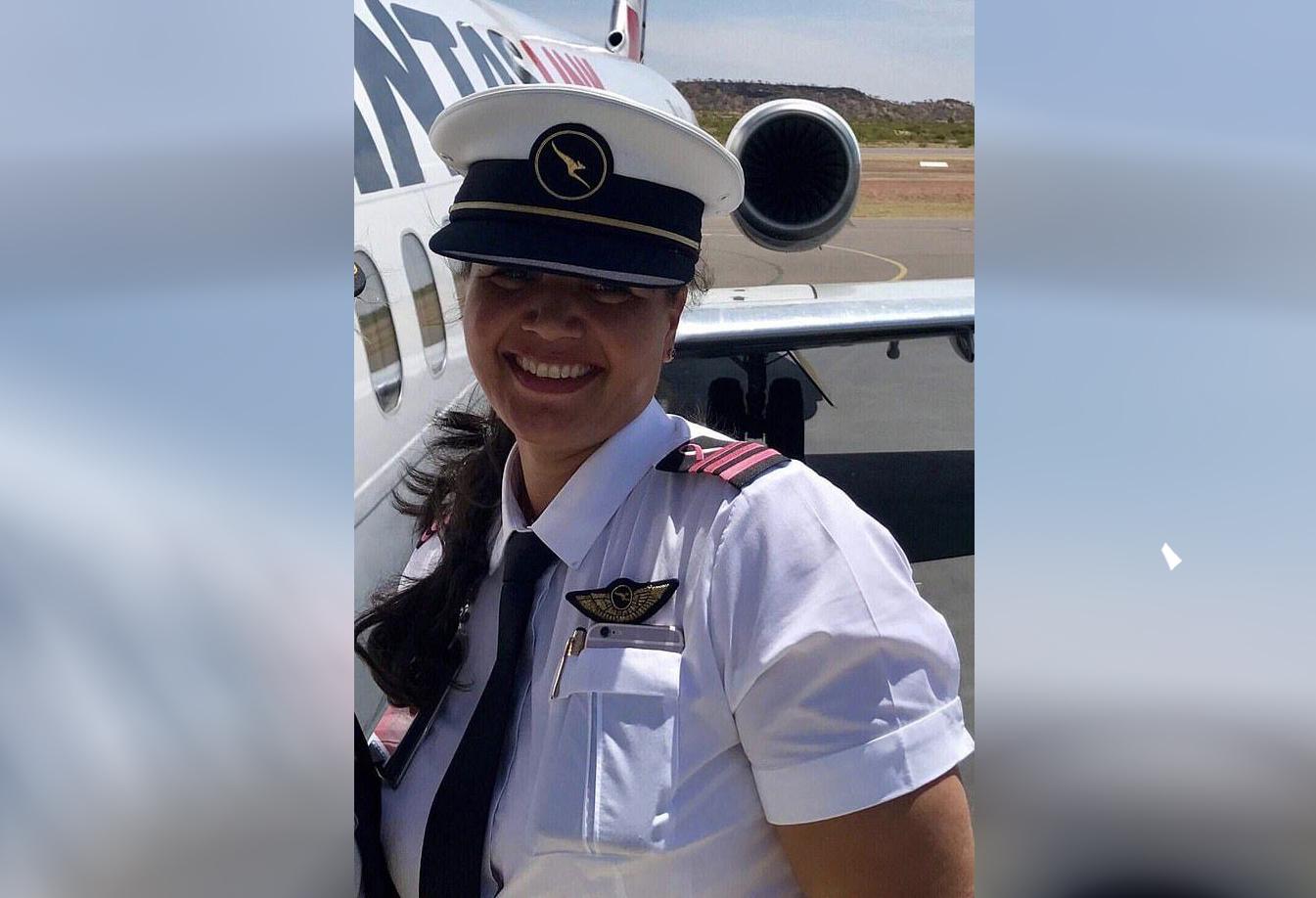 Jacinda Cottee, a former first officer for QantasLink