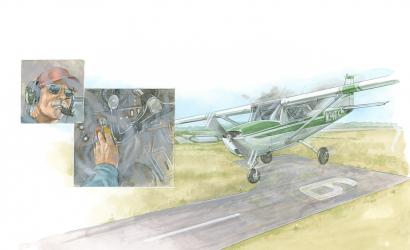 Legendary Illustrator Barry Ross Joins Plane & Pilot