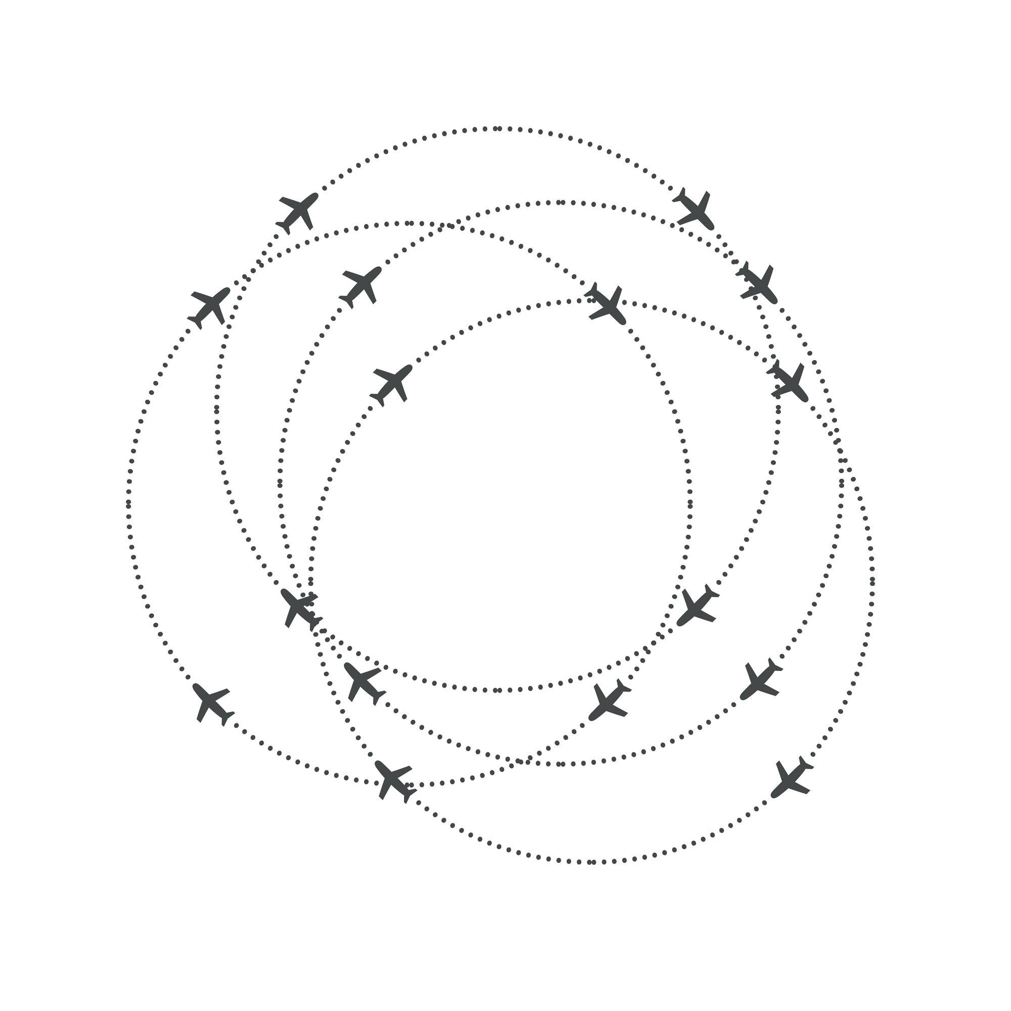 fly circle to land approaches more safely