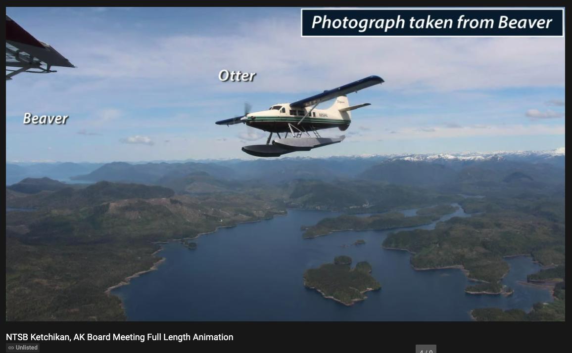 Alaska Midair Crash Report
