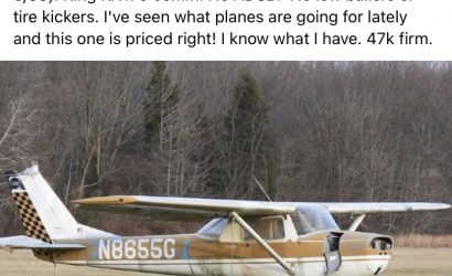 Plane & Pilot Photo of The Week for March 29, 2021: April Fools'? Too Many Pilots Fell For This Hilarious Fake Airplane Ad