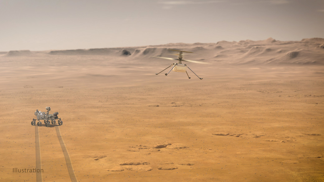 Mars Helicopter Fourth Flight