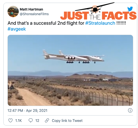 Aviation News Stratolaunch