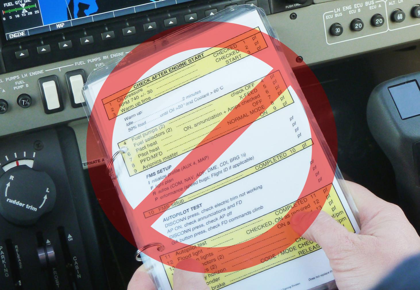 Airline Style Checklist