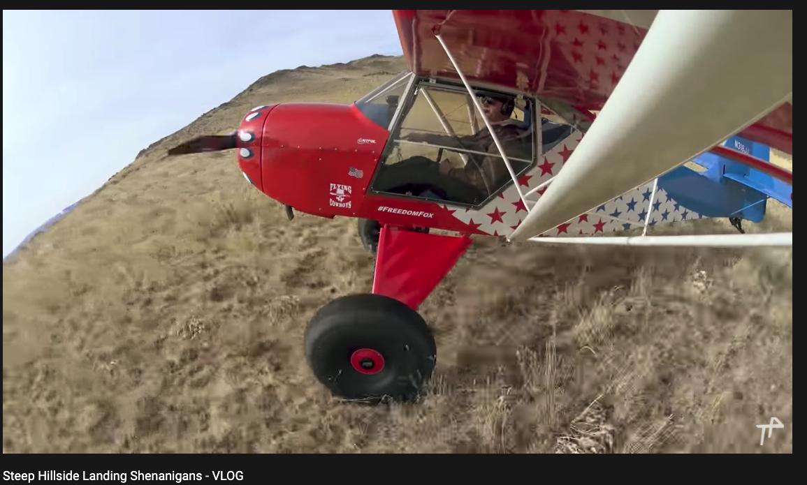 Role Models - Steep Hillside Landing