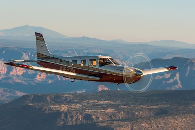 Though not originally conceived of as a speedy transportation plane, the Piper PA-32 grew into a fine high-performance cruiser with room for the whole family.