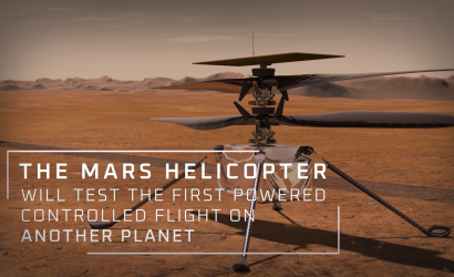 Mars Helicopter Tests Its Wings!
