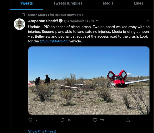 Denver Midair Crash