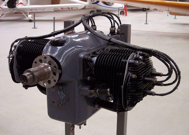 Continental A40 Piper Cub Engine