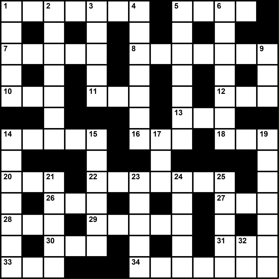 June 2021 Crossword