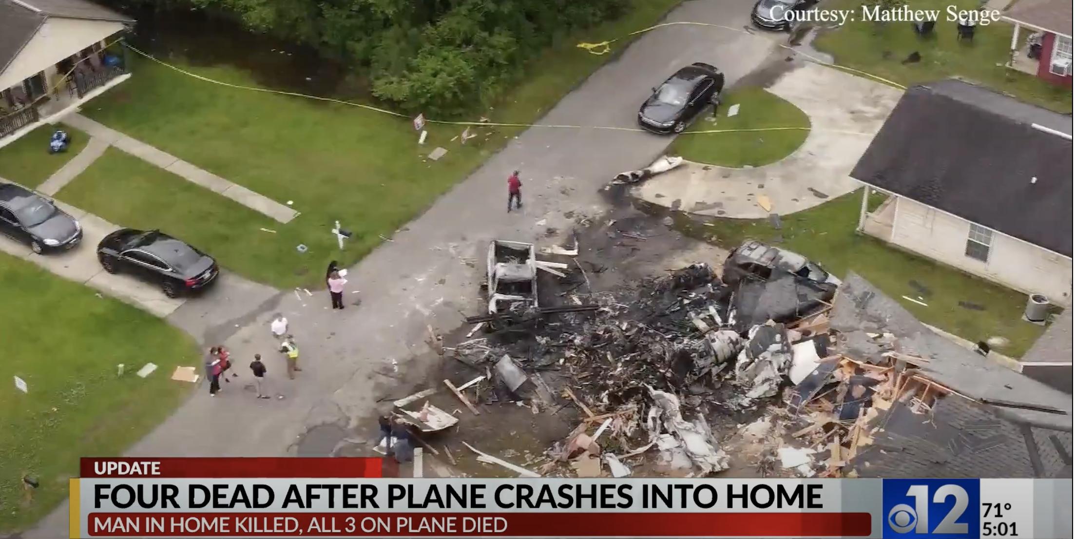 Mitsubishi Plane Crash in Mississippi