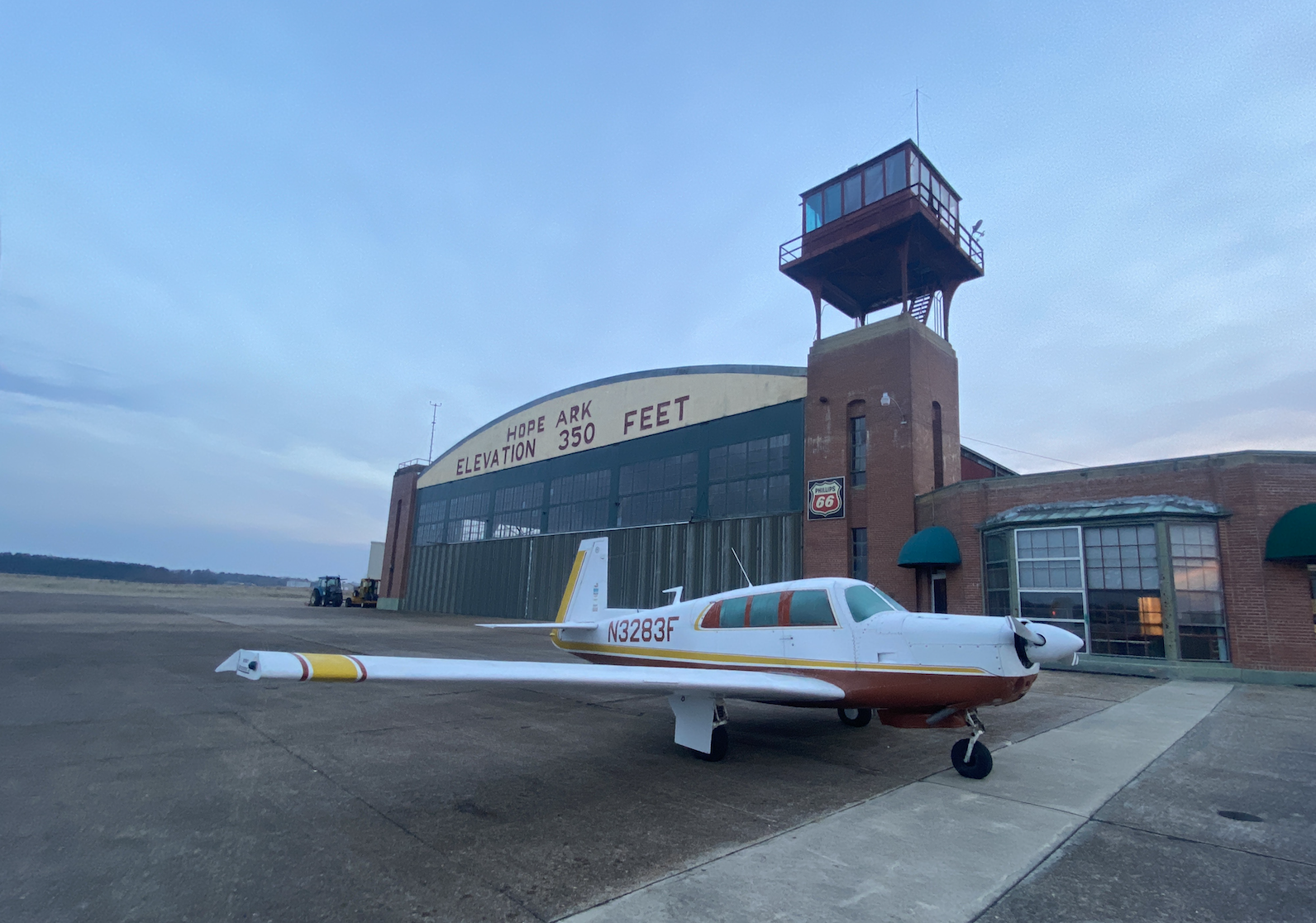 An unplanned stopover at Hope, Arkansas, reminded the author of the wonderful world that is light GA and the thousands of small airports that are its foundation. Photo by Jeremy King