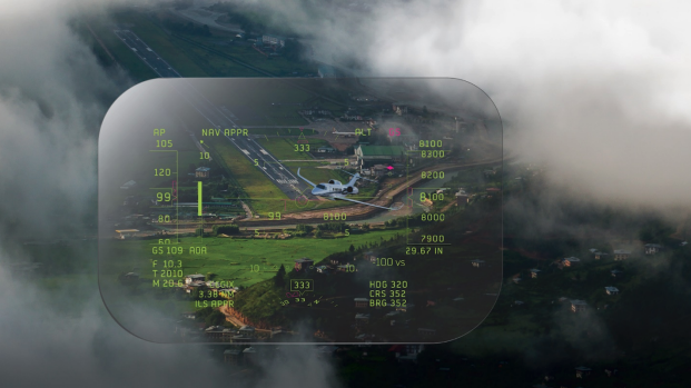 FAA Approves First Small-Plane HUD