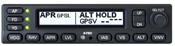 Genesys Updates Its S-TEC 3100 Autopilot