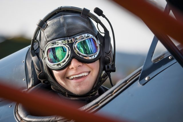 Luke Lachendro by aviation photographer Jim Koepnick