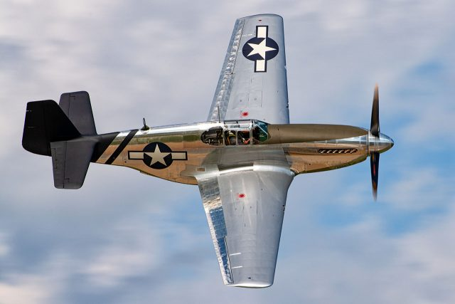 An early-model North American P-51 with fastback canopy. Photo courtesy of EAA, Connor Madison