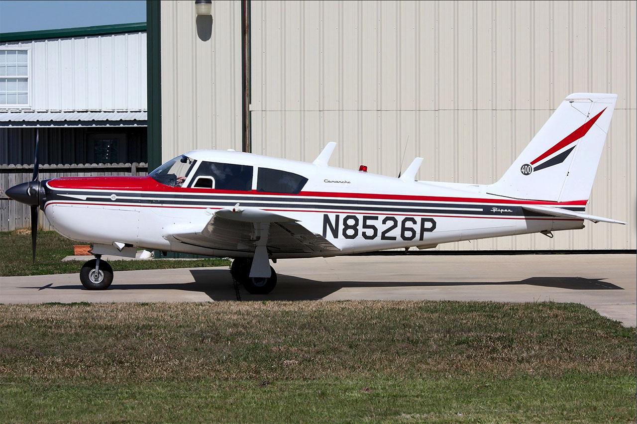 Piper Commanche 400. Photo By Andrew Compolo