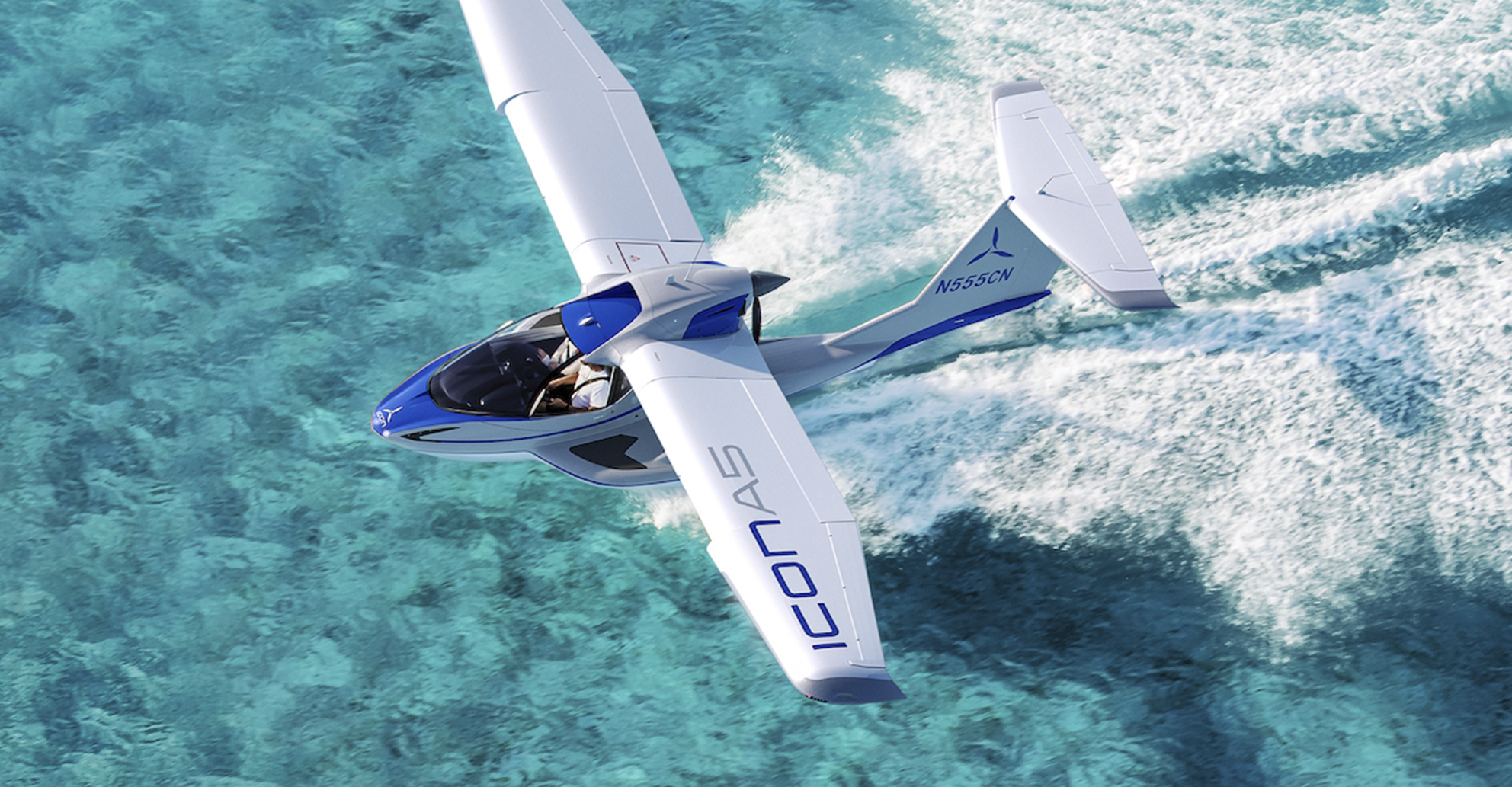 ICON A5 Electric Blue