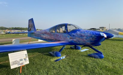 RV-10 At Oshkosh AirVenture Pays Tribute To Builder's Native Heritage