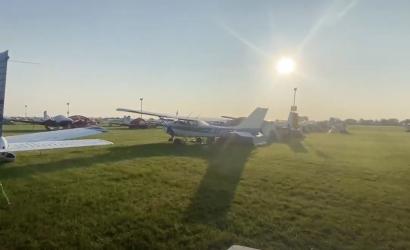 Morning video short: Wittman Field Wakeup Call