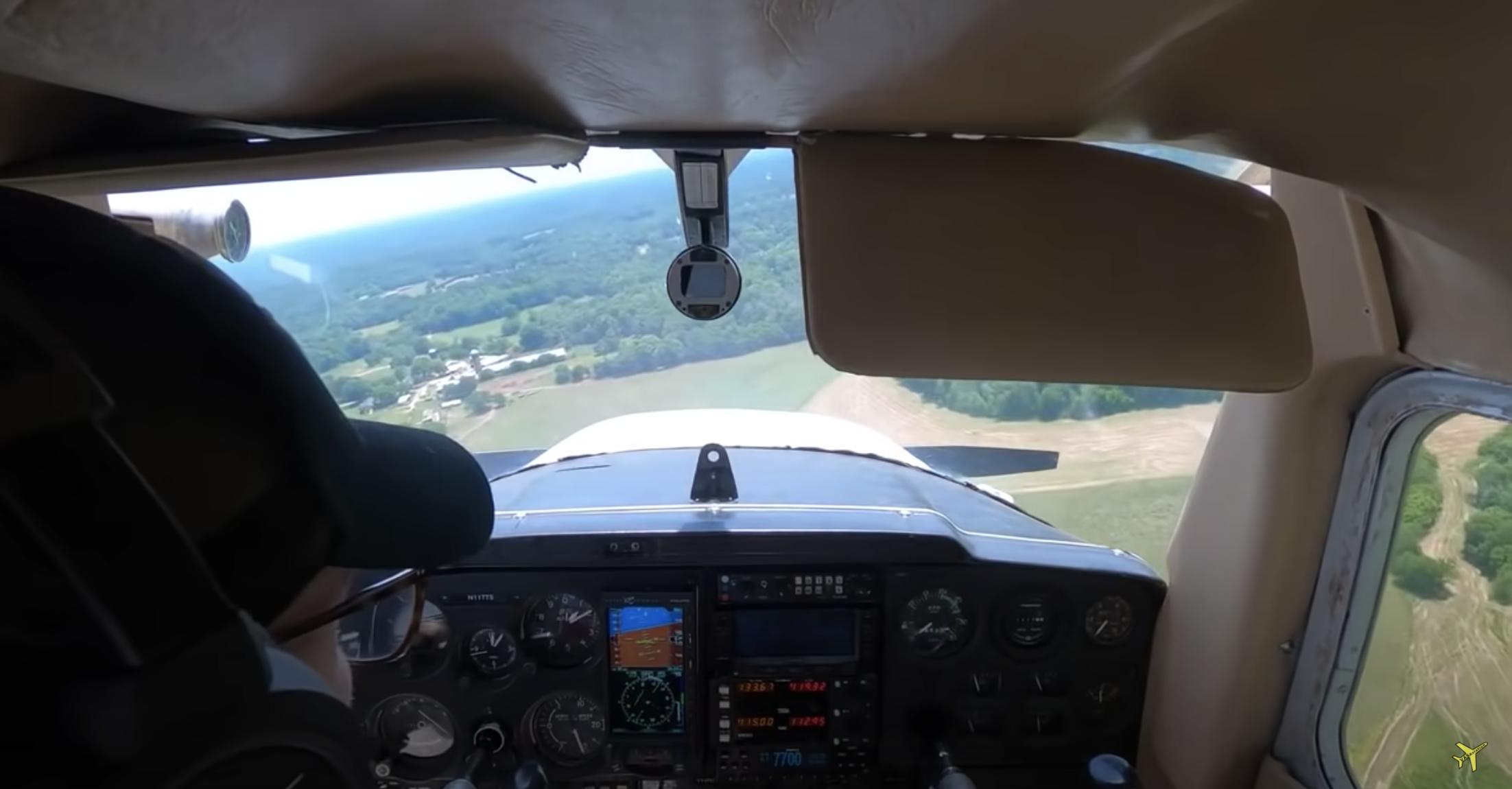 Student Pilot Emergency Landing