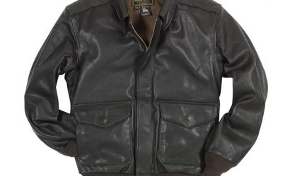 An A-2 Leather Jacket, Sporty's CleanWing Scrubber, And More Pilot Gear