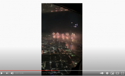 Every Pilot Dreams Of Flying Through Fireworks. This Guy Did It!