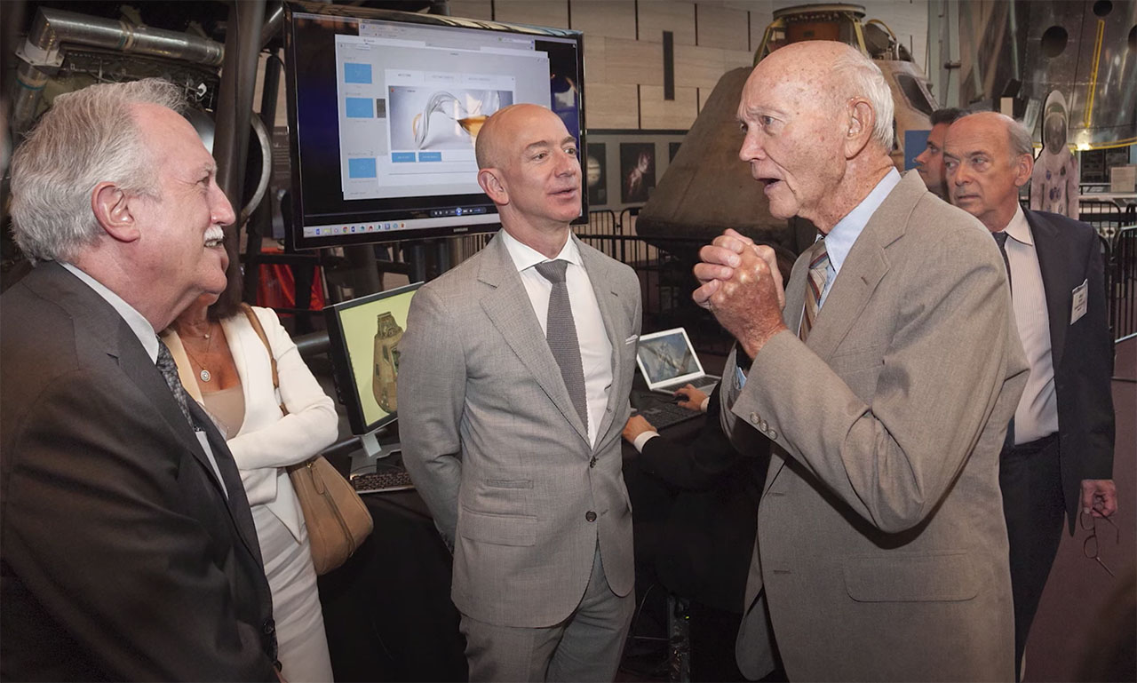 Jeff Bezos Gives $200 Million To Air & Space Museum