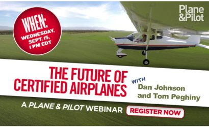 Crystal Ball Time: The Future of Small Planes Webinar
